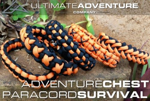 Ultimate Adventure Company Paracord Survival Bracelet Adventure Chest