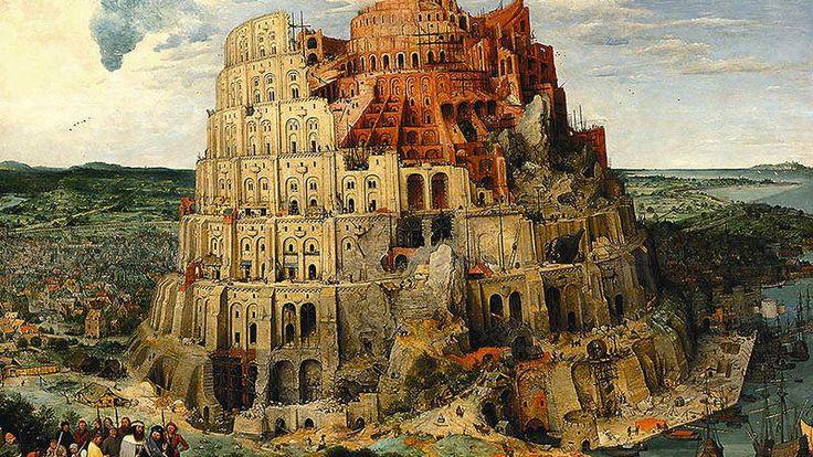 "Pieter Bruegel Starszy, ""Wieża Babel"""