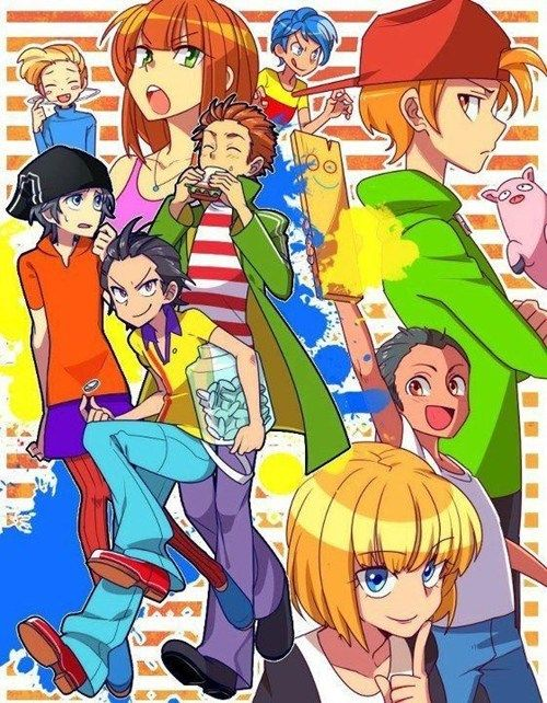 Ed, Edd, and Eddy Anime Style___I would actually watch this show if it was like this