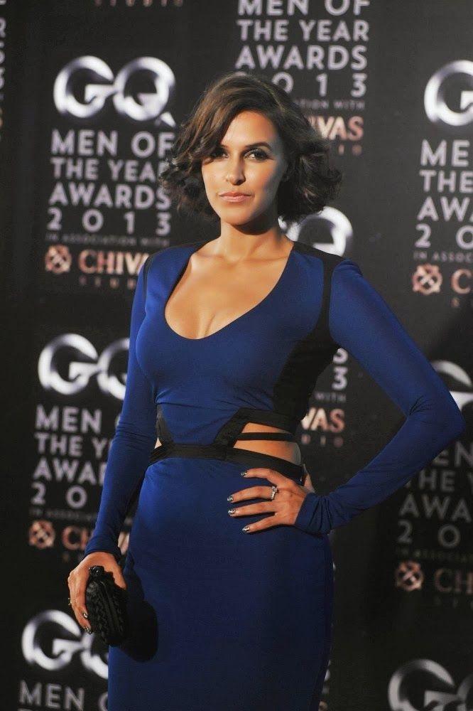 Neha Dhupia at GQ Man of The Year Awards 2013.