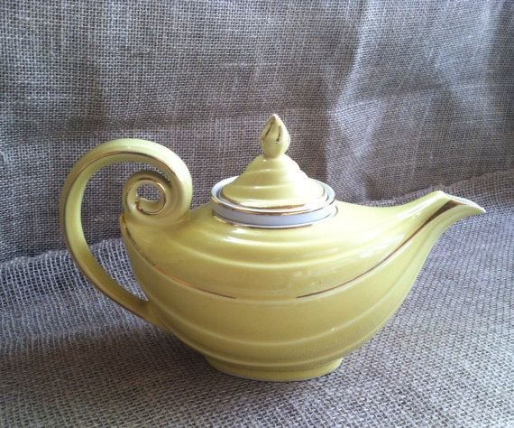 Infuser Teapot Genie Lamp by BlissfullyModern on Etsy, $30.00