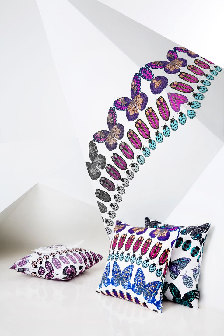 Papilio cushions