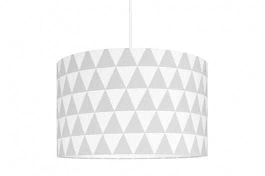 lampy-Lampa sufitowa Trójkąty szare