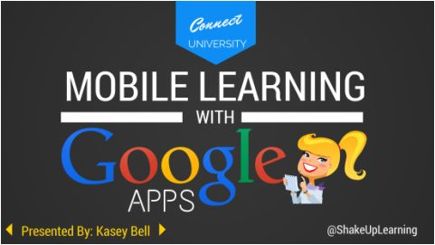 Mobile Learning with Google Apps | Shake Up Learning | www.shakeuplearning.com: