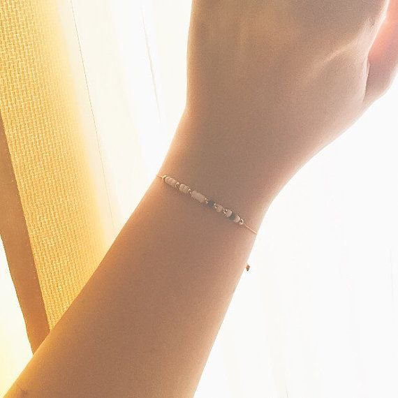 Sister Morse Code Bracelet - Friendship Bracelet - Best Friend Gift - Minimalist Jewelry - Beaded Bracelet - Personalized Bracelet