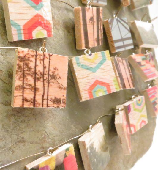 Transferir imagens para madeira, utilizando fita adesiva ou papel contact, é muito fácil (Foto: popcraftart.com)