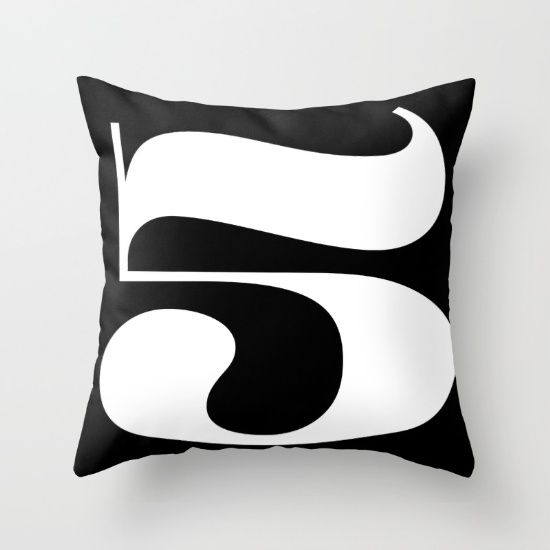 Buy Fiv Throw Pillow by werls. Worldwide shipping available at Society6.com. Just one of millions of high quality products available.