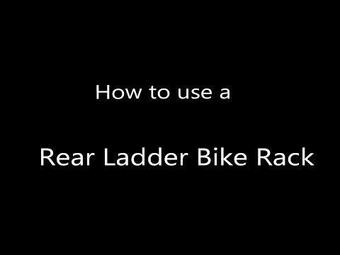 How to Load a Bike on a Rear RV Bike Rack - YouTube | www.OptimumRV.com