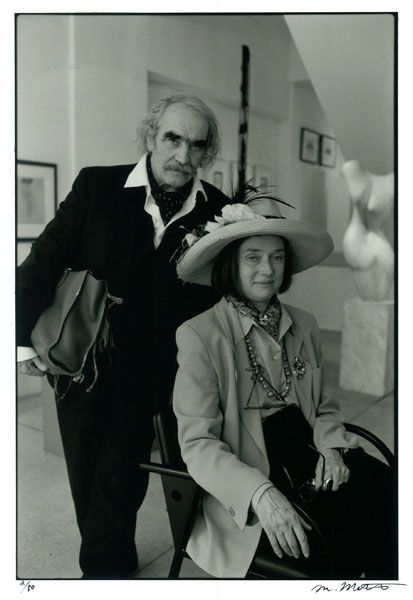 Jean Tinguely and Niki de Saint Phalle, 1991