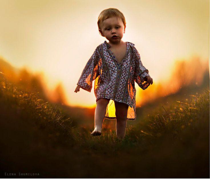 Russisk mor imponerer med fantastiske billeder af sine børn