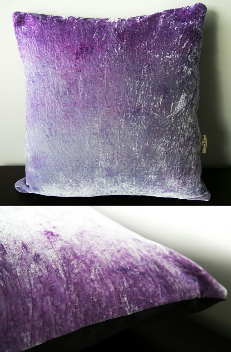 Spring inspired velvet ombre cushion available from my Etsy store: www.etsy.com/listing/183892057