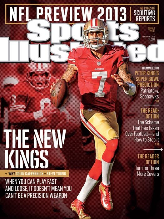 2013 Sports Illustrated Covers Colin Kaepernick