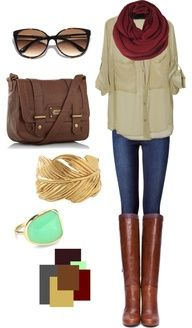 Travelling gear: Fall Style, Dream Closet, Fall Outfits, Fall Fashion, Fall Winter, Color Combination, Shirt, Fall Color