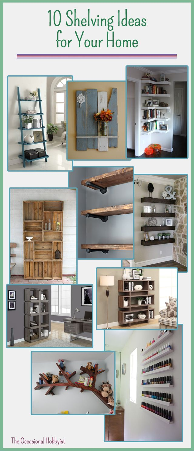 Colormaster albertville al - The Occasional Hobbyist 10 Shelving Ideas For Your Home