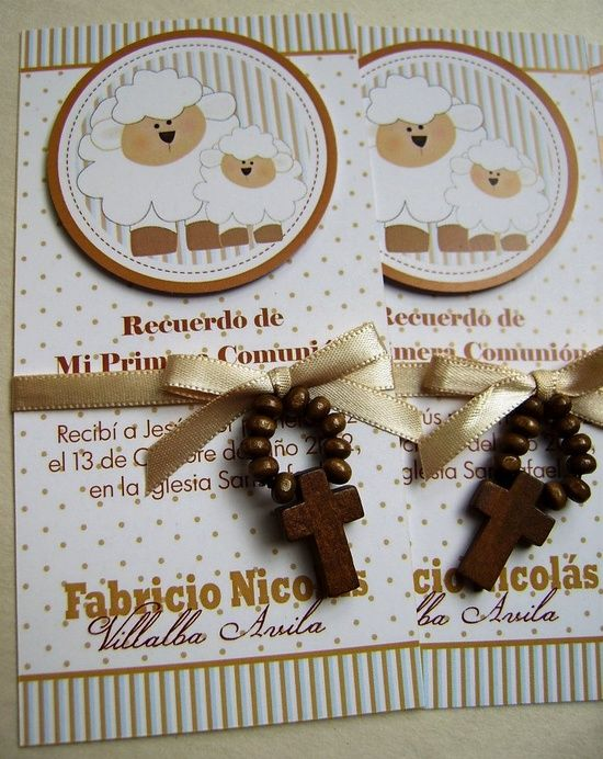 Recuerditos Primera Comunion @ DIY Home Crafts
