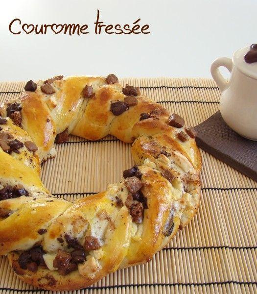 ♥ Couronne tressée aux 3 chocolats ♥ {résultat concours inside}