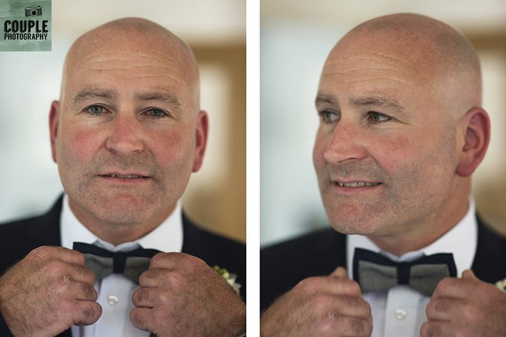 The groom puts the finishing touches to his get-up. Weddings at Tankardstown House by Couple  Photography.