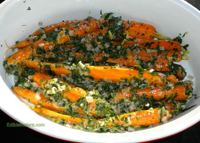 Recipe: Spring Carrots in a Fresh Herb Sauce | Edibletcetera – Fast & Fabulous Food