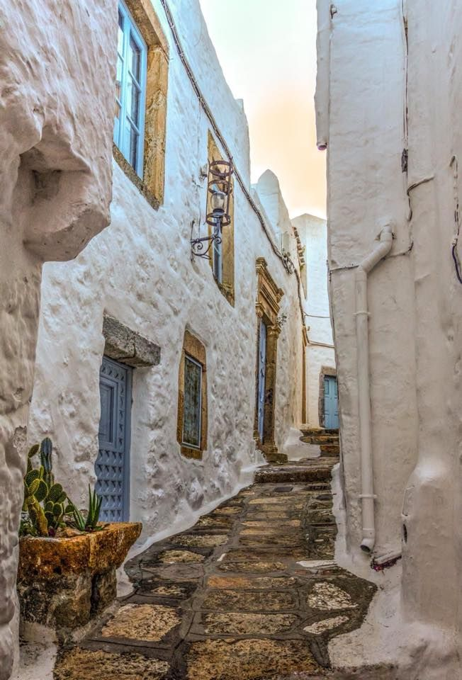 Patmos unique side streets