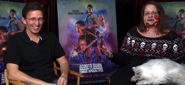Video Interview: Daily Dead Goes Full Zombie, Talks FX with SCOUTS GUIDE TO THE ZOMBIE APOCALYPSE's Tony Gardner