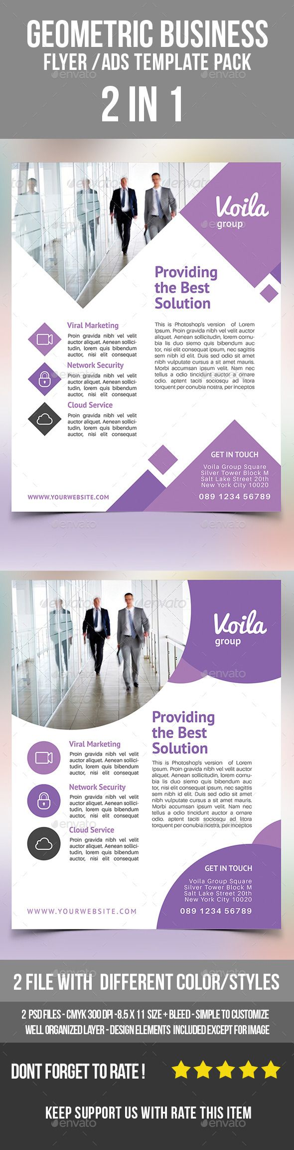 best images about flyer business flyer templates geometric business flyer ads