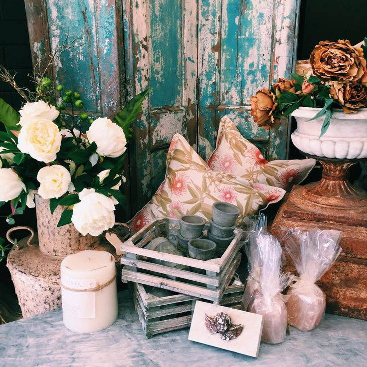 Homeware Heaven - our three panel turquoise screen, large rustic metal vase, marble urn and marble angel paper weight. #interiors #marble #interiordesign #homedecor #flowers #saltlamps #crates #furniture #rustichome #rustavalon #rusticinteriors