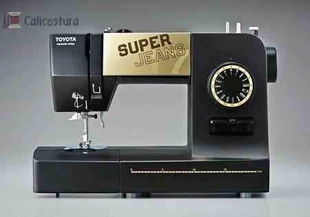 Toyota super J17XL con esta máquina de coser profesional, podras  coser materiales gruesos como tela vaquera y piel.  #Sewing #Machine #Jeans