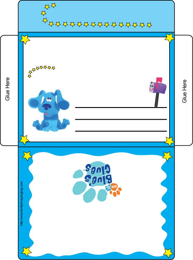 21 best Blues Clues Bday Talons 2 year images – Blues Clues Birthday Card