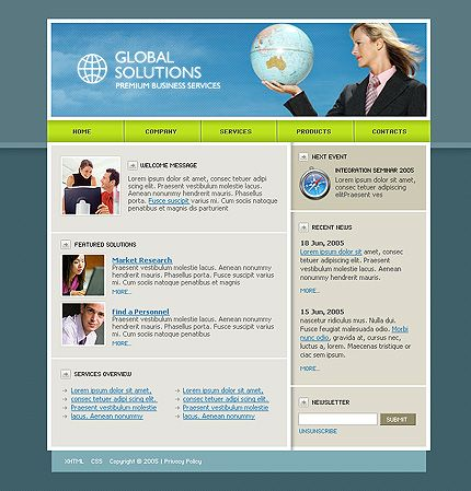 Sell Sheet Design | CSS Template U003e TemplateKnowledgeBase.com