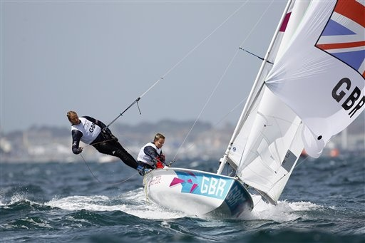 Hannah Mills & Saskia Clark take silver in the women's 470 sailing (bigstory.ap.org)