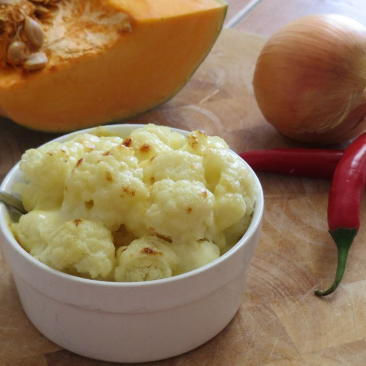 We know it's cheese-y, but we think this Cauliflower Cheese by abrarose is grate!
