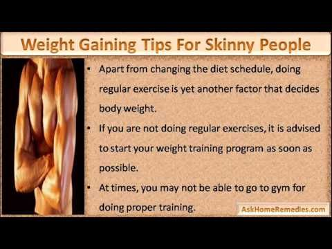 This video describe about easy weight gaining tips for skinny people who want to increase weight fast.