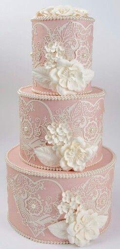 Shabby cake box
