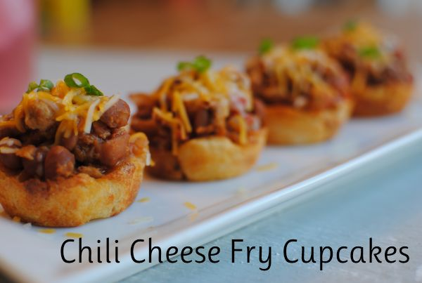 "Chili Cheese Fry ""Cupcakes"" I'm not sure how I feel about these..."