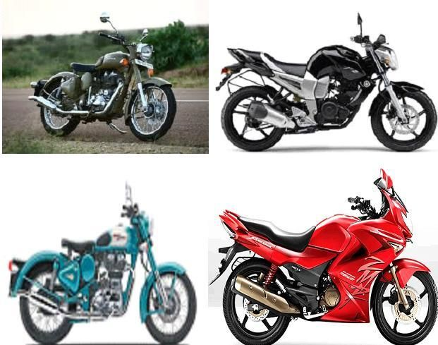 Find Compare between Royal Enfield Classic 500, Yamaha FZ 250, Royal Enfield Bullet Classic 500 and also Hero Motocorp Karizma 250 in india online..