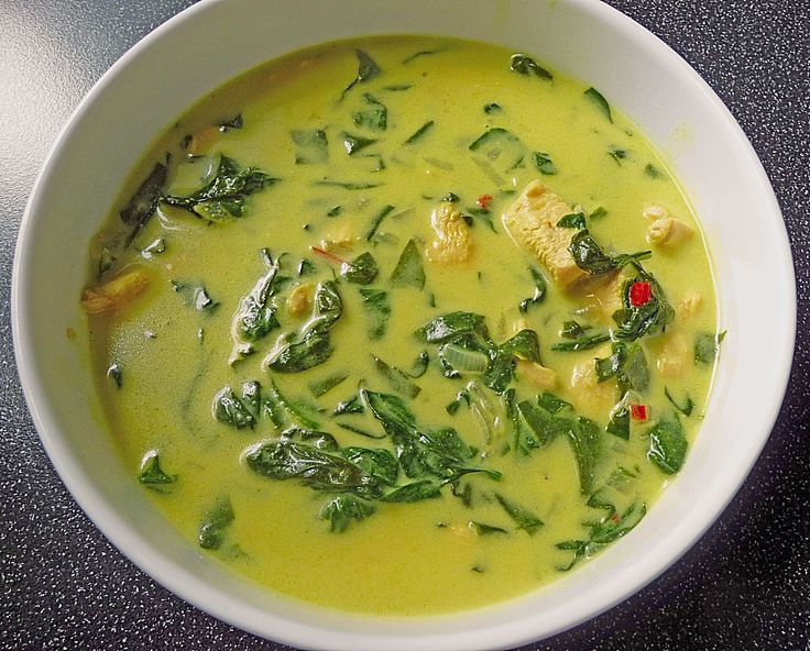 Curry - Hühnersuppe (Rezept mit Bild) von FrauMausE | Chefkoch.de