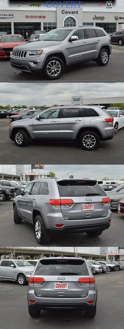 SUVs: 2015 Jeep Grand Cherokee Limited P01497 Used Jeep Grand Cherokee Limited Black Suv Premium 3.6L V6 24V Automatic BUY IT NOW ONLY: $15100.0