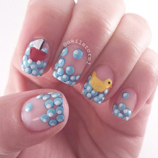 Instagram photo by nailstorm1 #nail #nails #nailart - 137 Best Bubble Nails & Nail Art Designs Gallery By Nded Images On