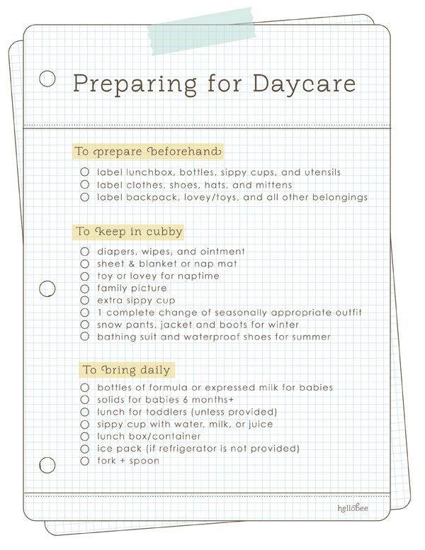 Best 25+ Daycare contract ideas on Pinterest In home daycare - daycare form