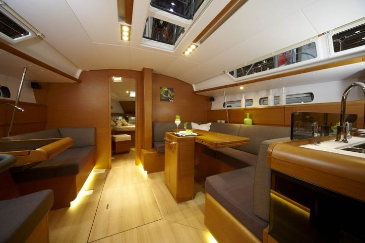 Jeanneau Sun Odyssey 439 Salon  See more of her here: