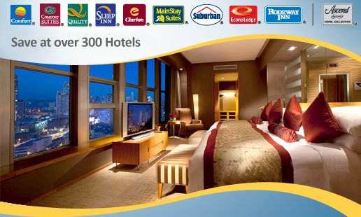Choice Hotels -- Deal: Save 20% On Your Next Stay With Choice Hotels. Use CODE: 00070906