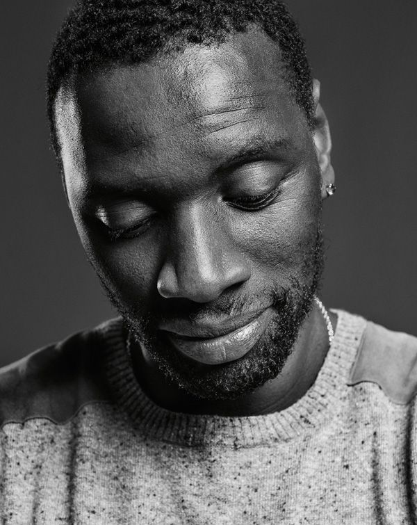 Omar Sy (1978) - French actor and comedian. Photo by Frank Bauer