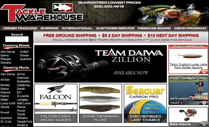 Marvelous Bass Tackle Warehouse