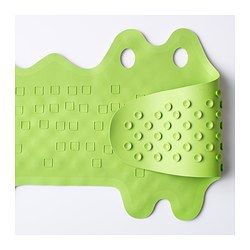 IKEA - PATRULL, Bathtub mat, Reduces the risk of your child slipping and getting hurt in the shower or tub.You can keep the mat clean and fresh longer by hanging it up to dry after you've used it. The holes in the mat are perfect for hanging.