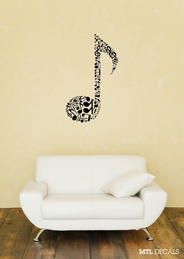 56 best Deko ♥ Music images on Pinterest | Music decor, Music notes ...