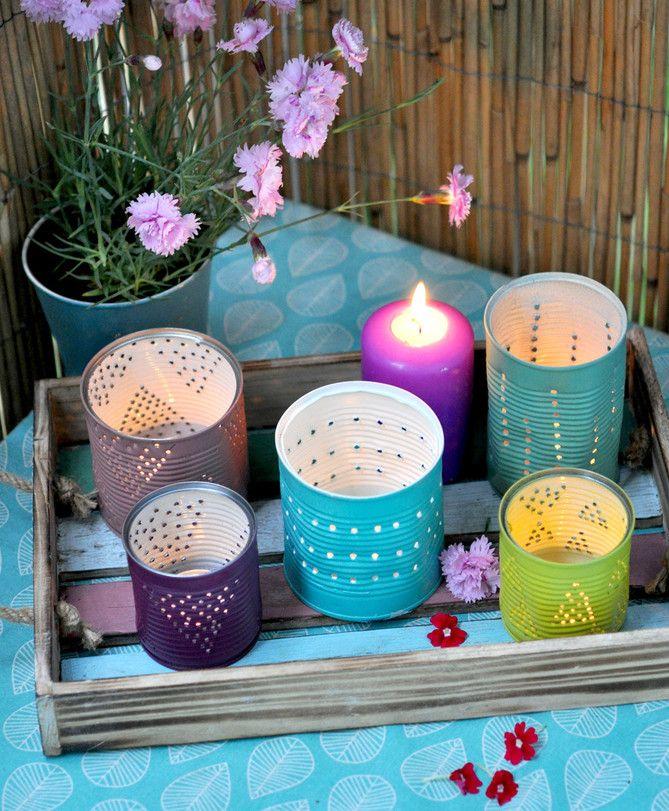 Die besten 25+ Blechdosen basteln Ideen auf Pinterest Blechdose - gartendeko selber bauen