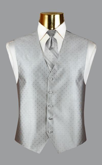 Ralph Lauren-Platinum Tuxedo Tuxedo Vest