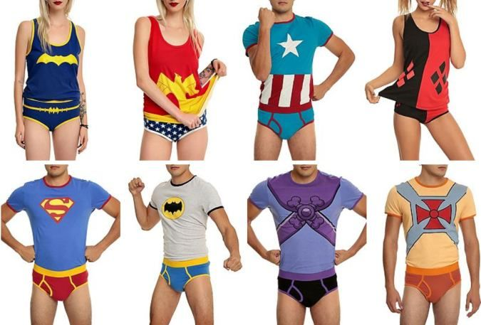 Underoos Are Back ... So Adults Can Enjoy Them Too by @hottopic - http://coolpile.com/style-magazine/underoos-back-adults-can-enjoy via coolpile.com #Batman #CaptainAmerica #Clothing #Cool #Cotton #Design #Gifts #HarleyQuinn #HotTopic #Superheroes #Superman #Underwear #WonderWoman #coolpile