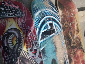 Say What?: Skateboard headboard