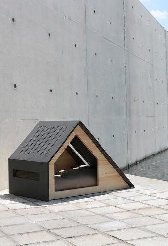 Make a Statement with Minimalist Dog Houses